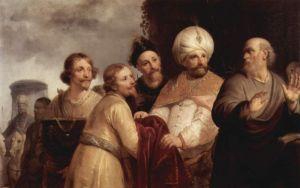 Elisha Refusing the Gifts of Naaman - Pieter de Grebber